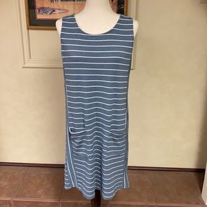 Kaileigh Striped Dress size Large